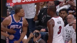 Justin Anderson wants to fight Dwyane Wade! (Game 3)