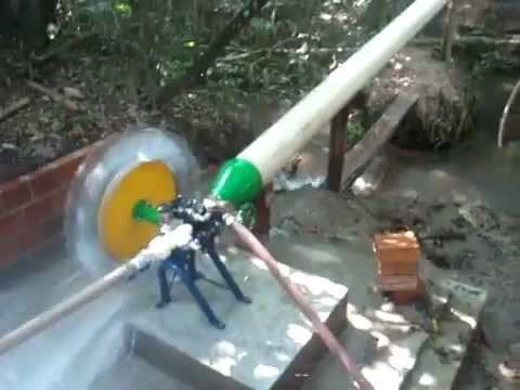 Roda d agua Alterima turbo bomba irrigação Energia Renovavel