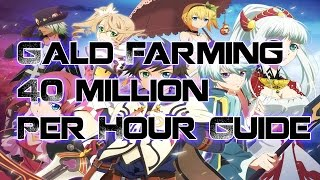 Tales of Zestiria - Fastest Way To Farm Gald 40 Million Per Hour