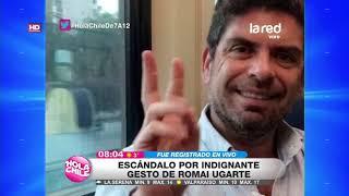 CDF lo sacó de pantalla: Las repercusiones por vulgar gesto de Romai Ugarte en plena transmisión