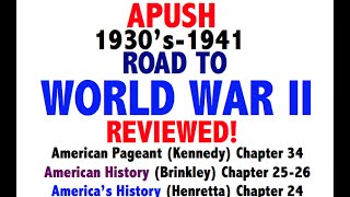 American Pageant Chapter 34 APUSH Review