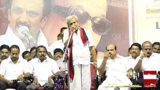 Theepori Arumugam's speech about Jayalalitha
