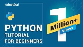 Python Tutorial | Python Tutorial for Beginners | Python Training | Edureka