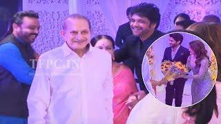 Super Star Krishna and Vijaya Nirmala @ Chay Sam Wedding Reception | Naga Chaitanya, Samantha | TFPC