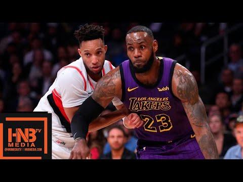 Xxx Mp4 Los Angeles Lakers Vs Portland Trail Blazers Full Game Highlights 11142018 NBA Season 3gp Sex