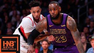 Los Angeles Lakers vs Portland Trail Blazers Full Game Highlights | 11.14.2018, NBA Season