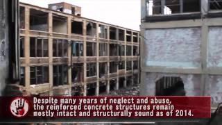 Urban Exploration:  Abandoned Packard Automotive Plant - Detroit, MI
