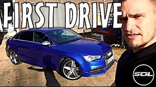 HOT 2014 Audi S3 Saloon: First Impressions