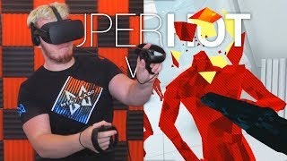 NINJA LADD!! - Superhot VR Funny Moments Oculus