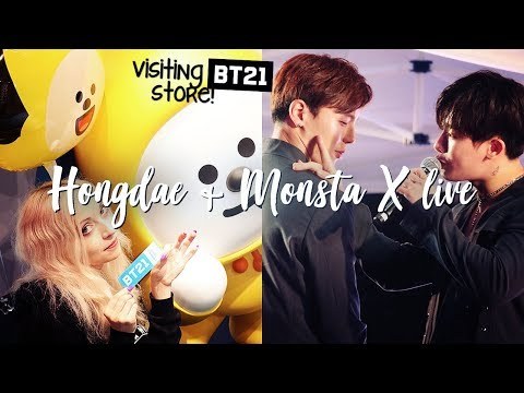 Download Lagu MOVING TO A K-POP HOTEL? BT21 Store & MONSTA X live in Seoul MP3