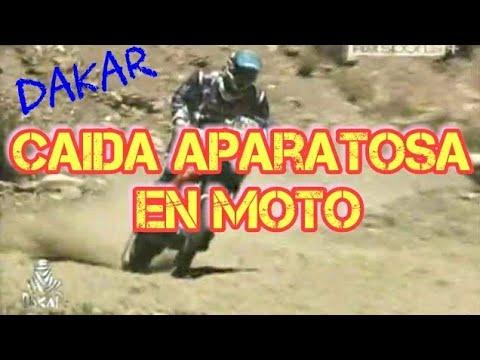 Caída aparatosa del Motociclista Quinn Alexis Cody USA