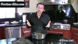 Persian Rice - KShar teaches how to cook Persian Tahdig
