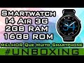 Download Relógio Smartphone Android 5 1 I4 Air 3G Smartwatch Gps Mp3 Wifi Amoled 40 Unboxing Gearbest mp3