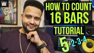 How To Count and Write 16 Bars in Rap | CurtissKingBeats.com