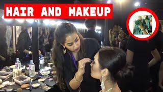Hair & Make up Artists for Miss Intercontinental 2016 Sri Lanka Backstage