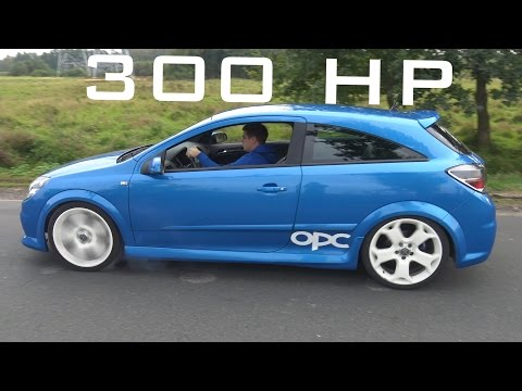 Opel Astra H OPC Sound Acceleration Onboard Autobahn Top Speed 0 250 Km h