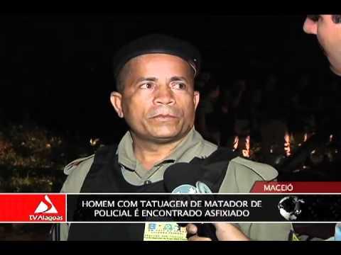 HOMEM COM TATUAGEM DE MATADOR DE POLICIAL É ENCONTRADO ASFIXIADO