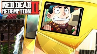 Stoppin the train in Red Dead Redemption 2! 🚂