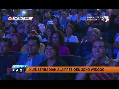 Jokowi Bawakan Kuis Berhadiah di Australia