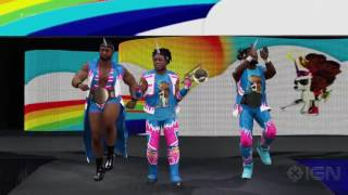 DON'T YOU DARE BE SOUR | WWE 2K17 New Day In-Game Entrance