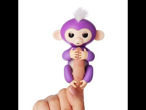 Интерактивная обезьянка Fingerlings с Aliexpress не работает