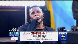 Jason Derulo - If Im Lucky - GMA (LIVE)