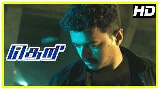 Theri Movie scenes | Vijay kills Stun Siva and Azhagam Perumal | Mahendran | Prabhu
