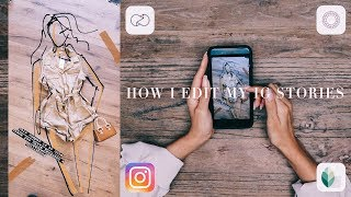 HOW I EDIT MY STORIES | DESI PERKINS