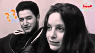 أحمد مالك يعترف بحبه لجميله عوض في كواليس فيلم هيبتا