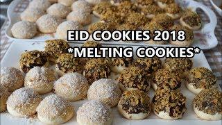 EID COOKIES 2018 - MELTING MAIZENA COOKIES - NESHASTA COOKIES - EID TUTORIAL - Dunyas Kitchen
