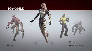 Marvel Ultimate Alliance 2 | All Heroes and Costumes [PS4]