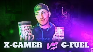 X-GAMER VS GFUEL! X-Gamer: Unboxing And Review #R3D