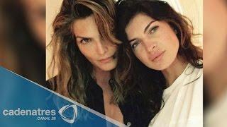 Montserrat Oliver sobre rumores de supuesto romance con una modelo Eslovaca