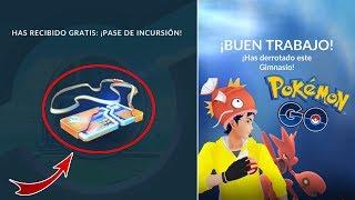 COMO CONSEGUIR PASE DE INCURSIÓN GRATIS!  [Pokémon GO-davidpetit]