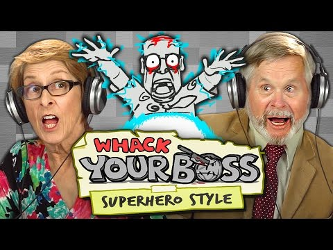 WHACK YOUR BOSS Superpower Edition Elders React Gaming