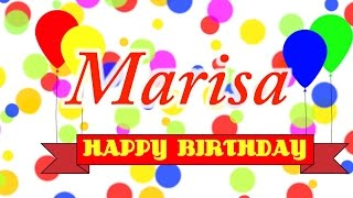 Happy Birthday Marisa Song