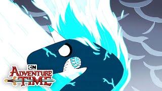 Adventure Time | Flamacorn Battle | Cartoon Network
