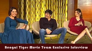 Exclusive Interview With Bengal Tiger Movie Team | Raviteja | Tamanna | Raashi Khanna