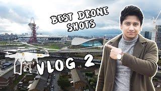 Best Drone Shots London (Stratford) | VLOG 2 | B-deshi | New Bangla Video 2017