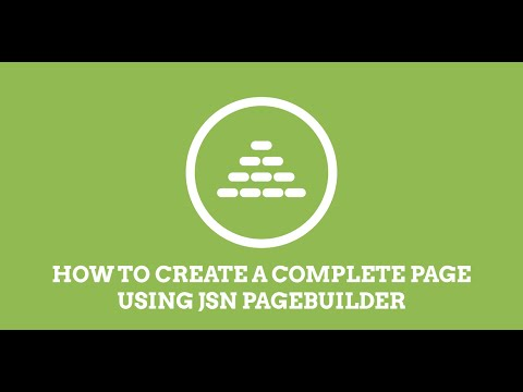 Jsn Pagebuilder How To Build A Joomla Page