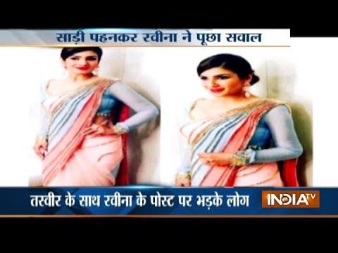 Xxx Mp4 Raveena Tondon Saree Tweet Sparks Row Urge People Not To Politicise Any Garment 3gp Sex
