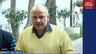Manish Sisodia Slams BJP Over CBI Raids