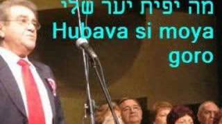 Hubava si moya goro by Zadikov choir מה יפית יער שלי