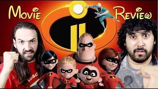 INCREDIBLES 2 - MOVIE REVIEW!!!