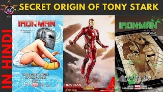 Secret origin of Tony Stark : IRONMAN    Explained in HINDI   