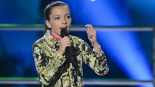 April sings The Wizard And I   The Voice Kids Australia 2014