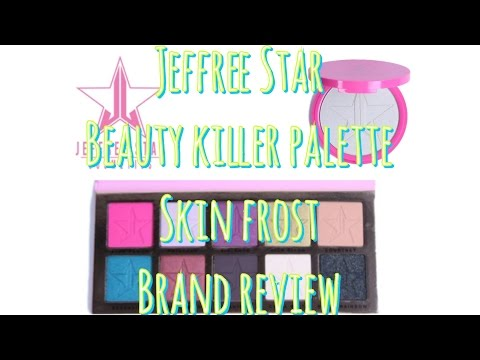 Jeffree Star Beauty Killer Palette, Ice Cold Skin Frost & Brand Review