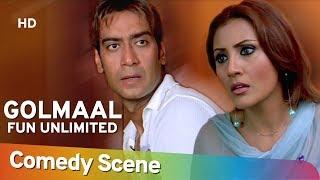 Golmaal Fun Unlimited - Ajay Devgan - Arshad Warsi - Most Viewed Scene - Shemaroo Bollywood Comedy