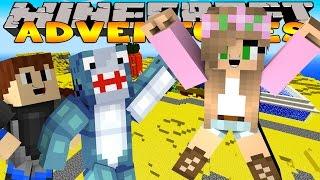 Minecraft - Little Kelly Adventures : TRIP TO BIKINI BOTTOM (W/Scuba Steve & Sharky)