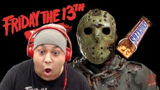 OFFERING JASON CANDY BARS IN EXCHANGE FOR MY LIFE LOL [FRIDAY the 13th]